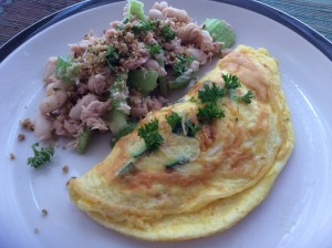 kitchen-omlette-tuna-beans